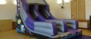 Bouncy fun slide