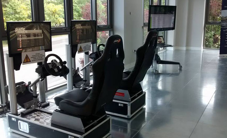 Twin Race Simulator