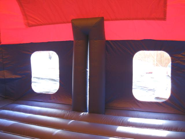 bouncy dome inside
