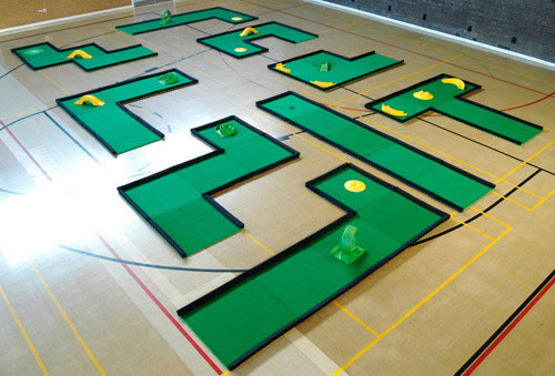 sports hall layout